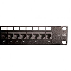 PATCH PANEL 24 PUERTOS CAT-6 LINET