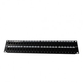 PATCH PANEL 48 PUERTOS CAT-5E LINET