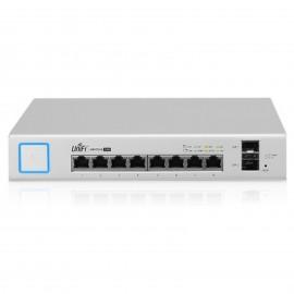 SWITCH UNIFI  8 PUERTOS 150W MODELO: US8150W