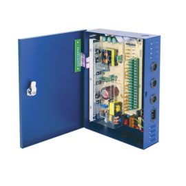 PS18DC10UPC Marca: EPCOM POWER LINE  Fuente para CCTV, 12 Vcd, 12 Amp, 18 Salidas.