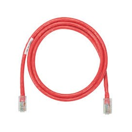 PATCH CORD DE 7FT CAT-5E ROJO LINET
